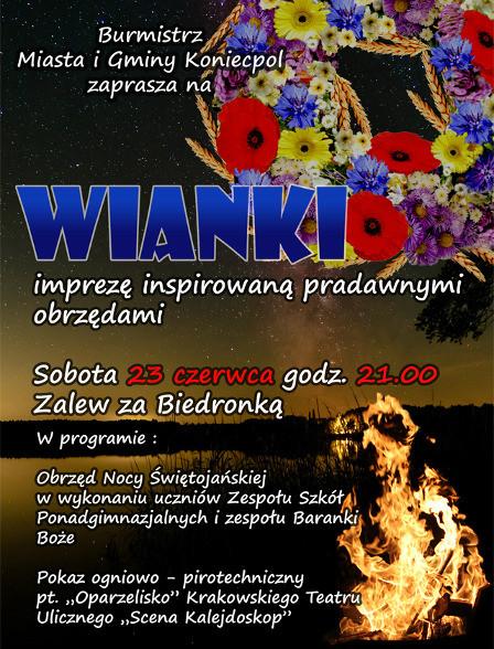 Plakat Wianki 2018