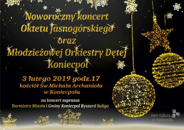 Noworoczny koncert Oktetu Jasnogórskiego