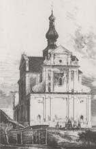 rycina kościoła